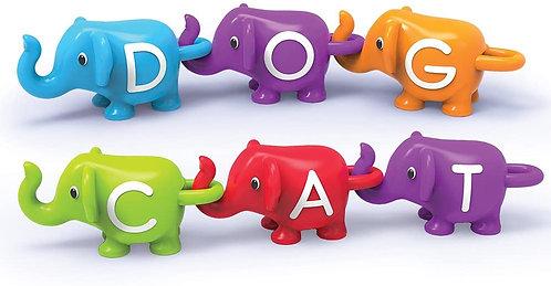 Aprendiendo El ABC Elefantes