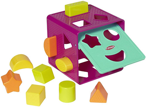 Cubo Encajable Figuras Geométricas