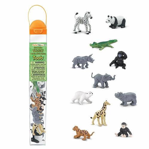 Set animales del zoológico