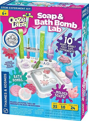 Set de Laboratorio Jabón y Bombas para el Baño
