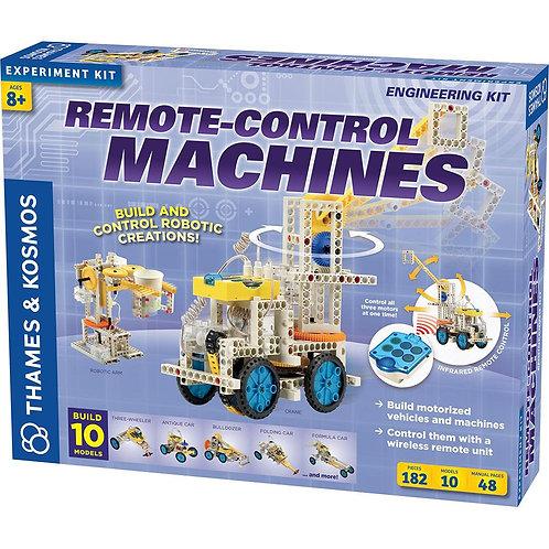 Kit de Ingeniería 10 Máquinas a Control Remoto