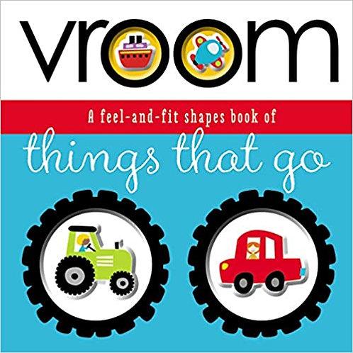 Libro Infantil Vroom Things That Go