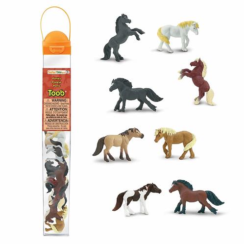 Set animales caballos