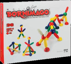 Juego De Construcción Magnético Bornimago