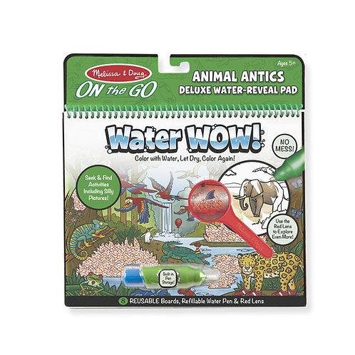 Libro para Pintar con Agua Animales Divertidos
