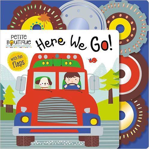 Libro Infantil Here We Go!