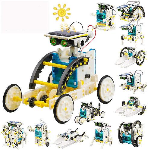 Robot Energía Solar 13 en 1