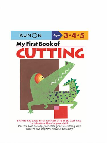 Libro Kumon My First Book Of Cutting