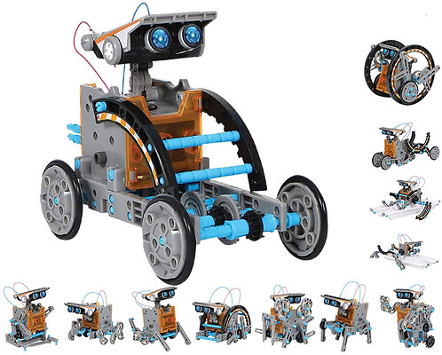 Robot Solar STEM 12 en 1
