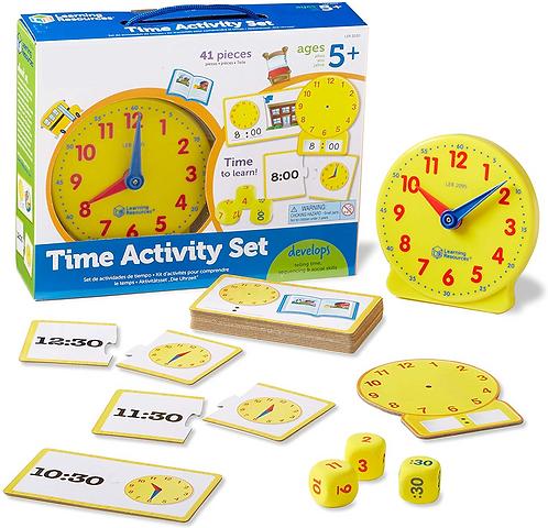 El Juego del Reloj Para Niños