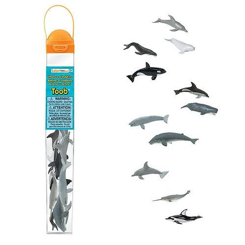 Set animales Ballenas y delfines