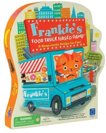 Juego de Motricidad Fina Food Truck