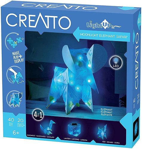 Rompecabezas 3D Animales con Luces