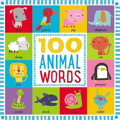 Libro Infantil 100 Animal Words