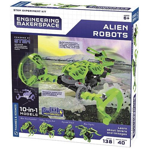Green Robots 10 en 1 Motorizados