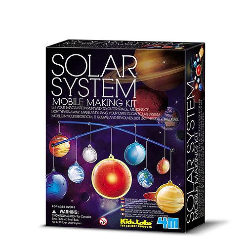 Experimento Móvil sistema solar