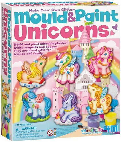 Kit moldea y pinta Unicornios