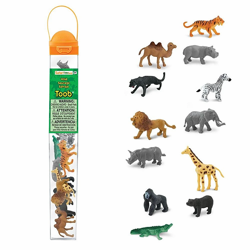 Set de animales de la selva