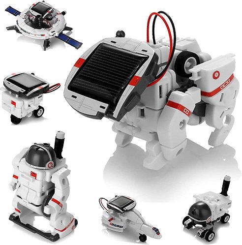 Robot Solar Espacial 6 en 1 STEM