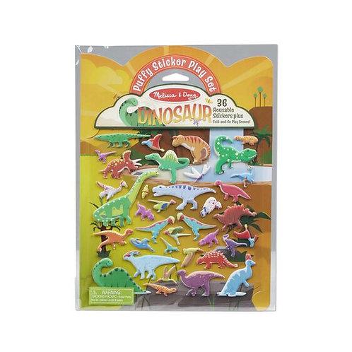 Stickers Acolchados Dinosaurios