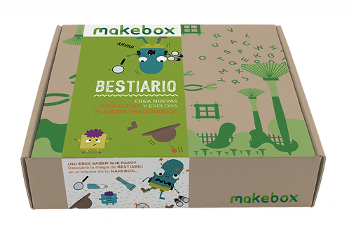 Producto Colombiano Makebox Bestiario