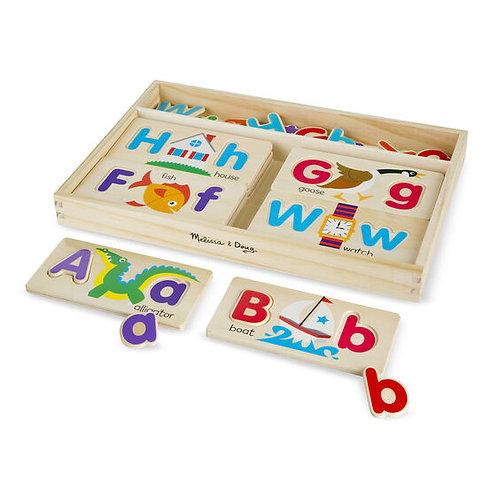 Tableros de imágenes del Alfabeto