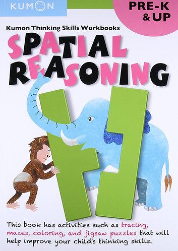 Libro kumon: Thinking Skills pre k-up: Spatial reasoning