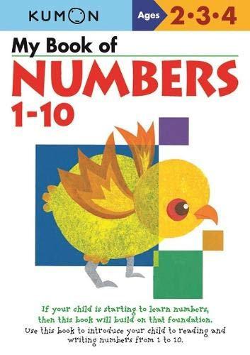 Libro Kumon My Book Of Numbers 1-10