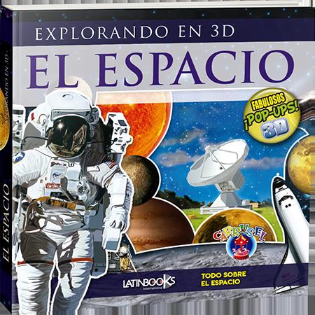 Libro 3D Pop Ups! El Espacio