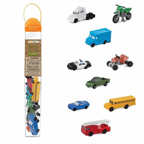 Set de vehículos de juguete