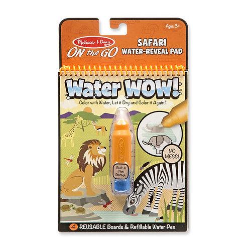 Libro para Pintar con Agua Safari