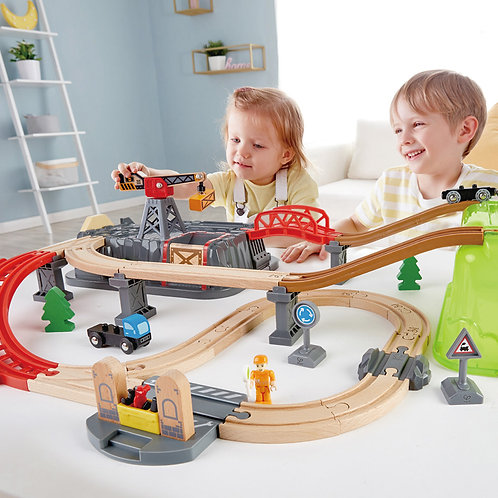 Juego de Construcción Ferrocarril