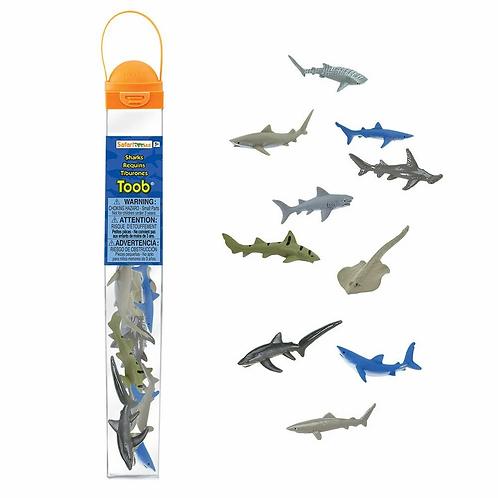 Set De Animales Tiburones