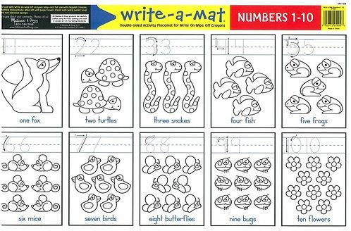 6 Plantillas de Números para Decorar