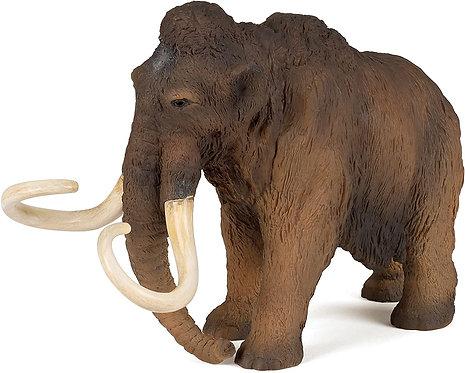 Figura Animales Mamut Pintada a Mano