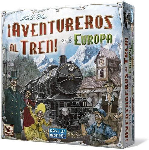 Juegos de Mesa ¡Aventureros Al Tren! Europa