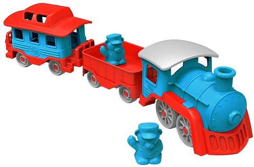 Tren con Vagones Ecológico 6 Piezas