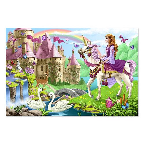 Rompecabezas 48 piezas Hadas del castillo
