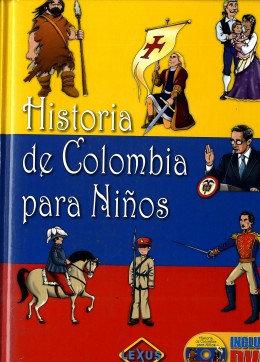 Libro Infantil Historia De Colombia Para Niños