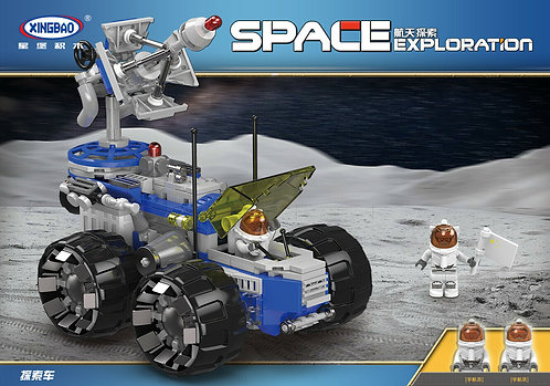Exploración Espacial Tipo Lego