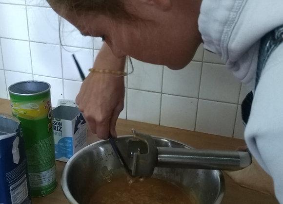 Atelier : découverte de la saponification à froid