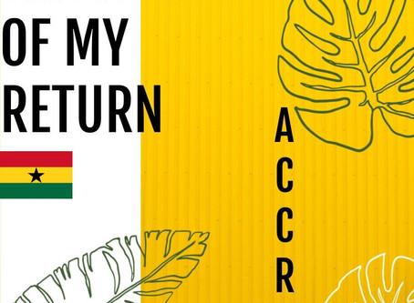 The Year of MY Return: Accra, Ghana