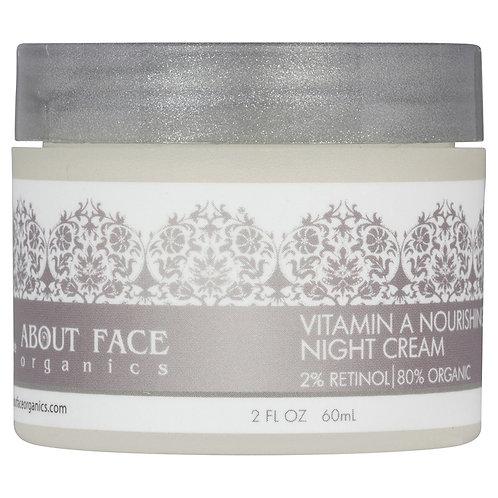 Vitamin A Nourishing Night Cream 2% Retinol | 80% Organic