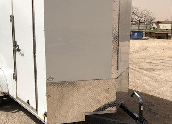 6x10x6.5 3k w/ Ramp Door