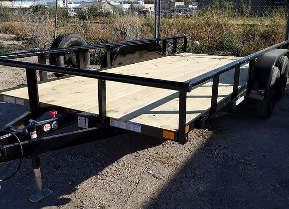 83x16 7k Utility Trailer