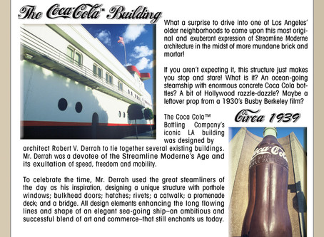 On Being A Tourist In My Own Town ~ The Coca-Cola Building