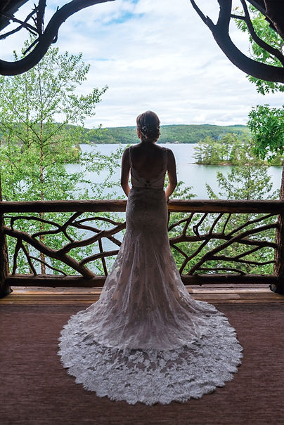 Bride, Lake George, New York