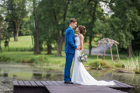 Bride and Groom, The Farm at Pond Lily, Elizaville, New York
