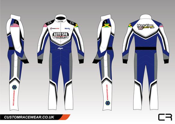 X-Pro Custom Race Suit