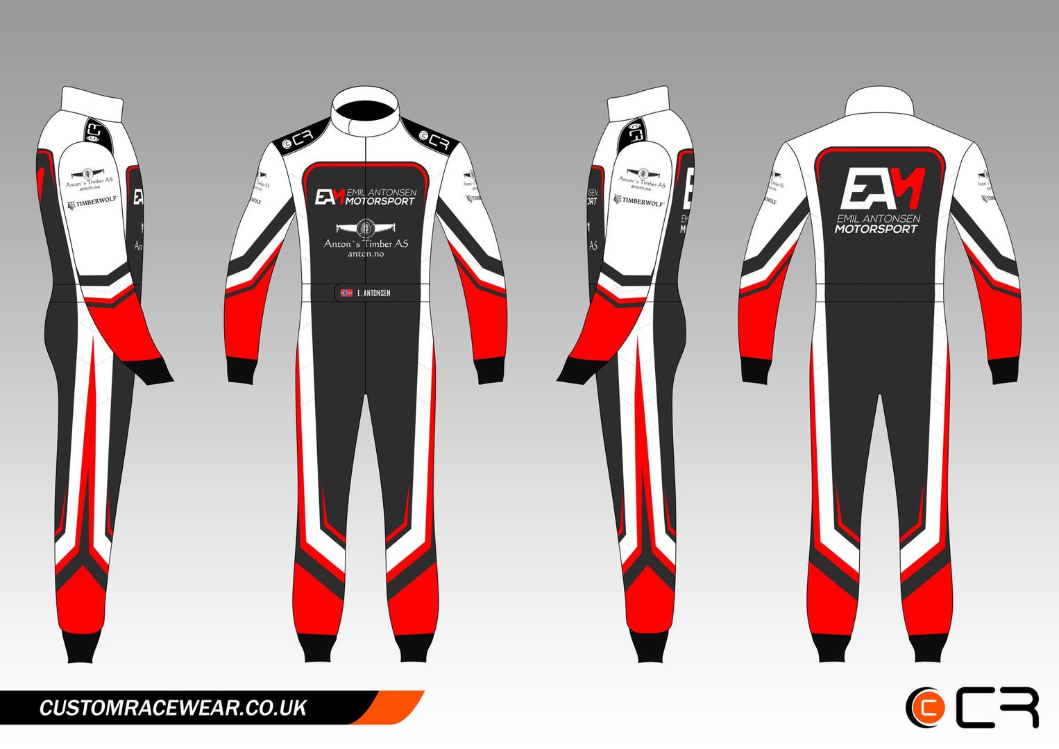 Car Race Suit
